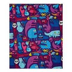 Mo Monsters Mo Patterns Shower Curtain 60  X 72  (medium)  by AnjaniArt