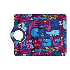 Mo Monsters Mo Patterns Kindle Fire Hd (2013) Flip 360 Case by AnjaniArt