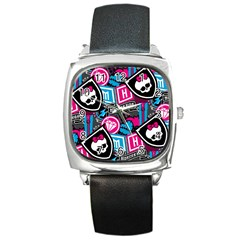 Monster High Square Metal Watch by AnjaniArt