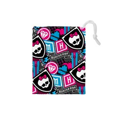 Monster High Drawstring Pouches (small)  by AnjaniArt