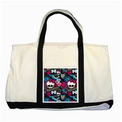 Monster High 03 Two Tone Tote Bag by AnjaniArt