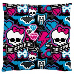 Monster High 03 Standard Flano Cushion Case (Two Sides) by AnjaniArt