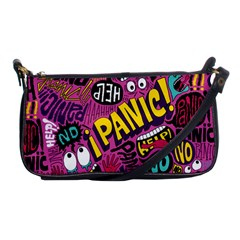 Panic Pattern Shoulder Clutch Bags by AnjaniArt