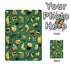 Pattern Linnch Multi Purpose Cards (rectangle)  by AnjaniArt