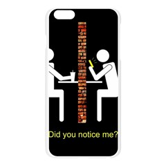 Pict Man Apple Seamless iPhone 6 Plus/6S Plus Case (Transparent) by AnjaniArt