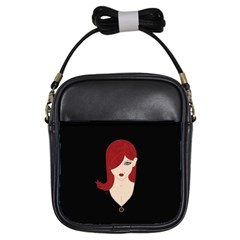 Picture Female Girls Sling Bags by AnjaniArt