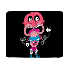 Red Cartoons Face Fun Samsung Galaxy Tab Pro 8.4  Flip Case by AnjaniArt