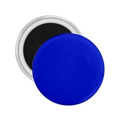 Persian Blue Colour 2.25  Magnets by artpics