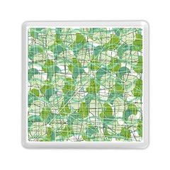 Gray Decorative Abstraction Memory Card Reader (square)  by Valentinaart