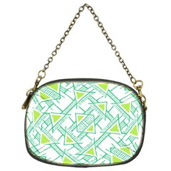 Ethnic Geo Pattern Chain Purses (two Sides)  by dflcprints