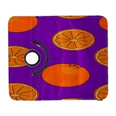 Orange Fruit Pattern Samsung Galaxy S  III Flip 360 Case by artpics