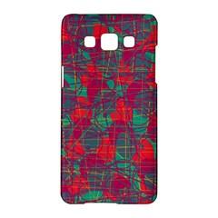 Decorative Abstract Art Samsung Galaxy A5 Hardshell Case  by Valentinaart