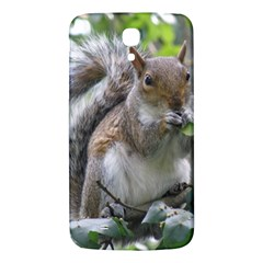 Gray Squirrel Eating Sycamore Seed Samsung Galaxy Mega I9200 Hardshell Back Case by GiftsbyNature
