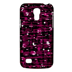 Magenta Abstract Art Galaxy S4 Mini by Valentinaart