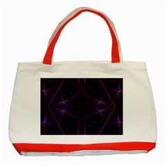 Universe Star Classic Tote Bag (red) by MRTACPANS