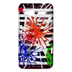 Colorful big bang HTC Radar Hardshell Case  by Valentinaart