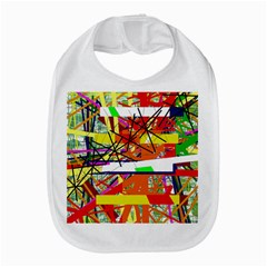 Colorful Abstraction By Moma Bib by Valentinaart