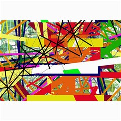 Colorful Abstraction By Moma Collage Prints by Valentinaart
