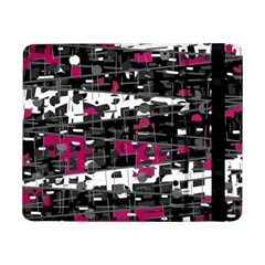 Magenta, white and gray decor Samsung Galaxy Tab Pro 8.4  Flip Case by Valentinaart