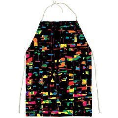 Playful Colorful Design Full Print Aprons by Valentinaart