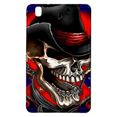 Confederate Flag Usa America United States Csa Civil War Rebel Dixie Military Poster Skull Samsung Galaxy Tab Pro 8.4 Hardshell Case by Zeze