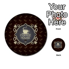 Coffee House Multi-purpose Cards (Round)  by Zeze