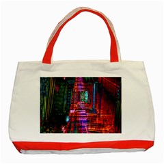 City Photography And Art Classic Tote Bag (Red) by Zeze