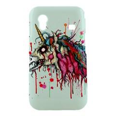 Zombie Unicorn Samsung Galaxy Ace S5830 Hardshell Case  by lvbart