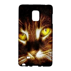 Cat Face Galaxy Note Edge by Zeze