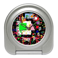 Colorful Facroty Travel Alarm Clocks by Valentinaart