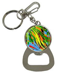 Jungle Bottle Opener Key Chains by Valentinaart