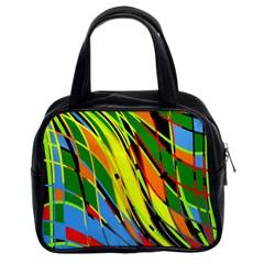 Jungle Classic Handbags (2 Sides) by Valentinaart