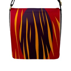 Fire Flap Messenger Bag (l)  by Valentinaart