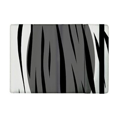 Gray, Black And White Design Apple Ipad Mini Flip Case by Valentinaart
