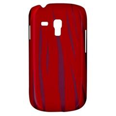 Hot Lava Samsung Galaxy S3 Mini I8190 Hardshell Case by Valentinaart