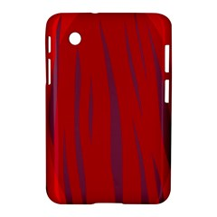 Hot Lava Samsung Galaxy Tab 2 (7 ) P3100 Hardshell Case  by Valentinaart