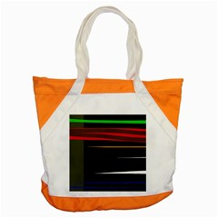 Colorful Lines  Accent Tote Bag by Valentinaart