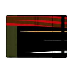 Colorful lines  iPad Mini 2 Flip Cases