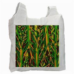 Upside Down Forest Recycle Bag (one Side) by Valentinaart