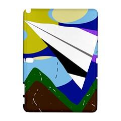 Paper Airplane Samsung Galaxy Note 10 1 (p600) Hardshell Case by Valentinaart
