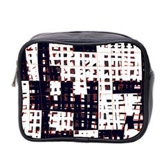Abstract City Landscape Mini Toiletries Bag 2 Side by Valentinaart