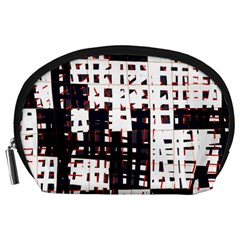 Abstract city landscape Accessory Pouches (Large)  by Valentinaart