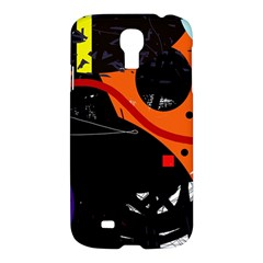Orange Dream Samsung Galaxy S4 I9500/i9505 Hardshell Case by Valentinaart