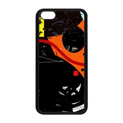 Orange Dream Apple Iphone 5c Seamless Case (black) by Valentinaart