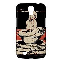 23 Sexy Conte Sketch Girl In Dark Room Naked Boobs Bathing Country Samsung Galaxy Mega 6 3  I9200 Hardshell Case by PeterReiss