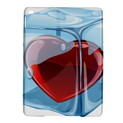 Heart In Ice Cube iPad Air 2 Hardshell Cases by Zeze