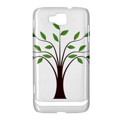 Tree Vector Samsung Ativ S i8750 Hardshell Case by Zeze