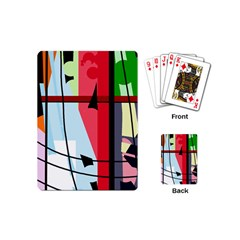Window Playing Cards (mini)  by Valentinaart