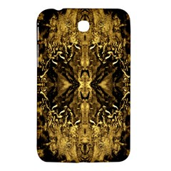 Beautiful Gold Brown Traditional Pattern Samsung Galaxy Tab 3 (7 ) P3200 Hardshell Case  by Costasonlineshop