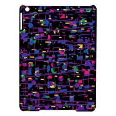 Purple Galaxy Ipad Air Hardshell Cases by Valentinaart